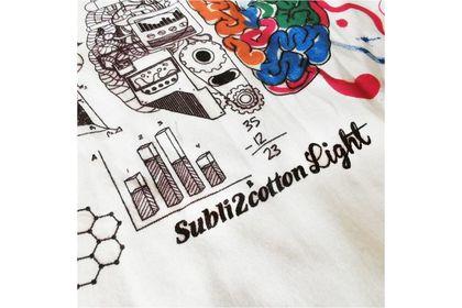 A4 SUBLIMATION ON LIGHT COTTON