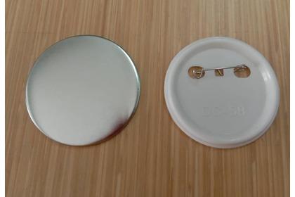 58mm CHEAP BUTTON PIN + MYLAR